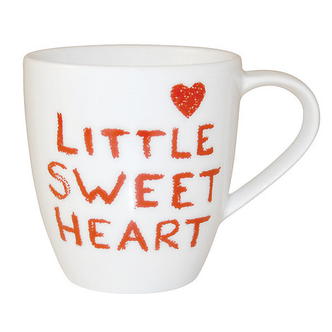 Jamie Oliver - White +Little sweetheart+ mug