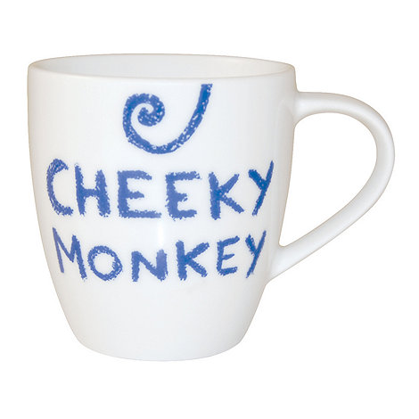 Jamie Oliver - White +Cheeky monkey+ mug
