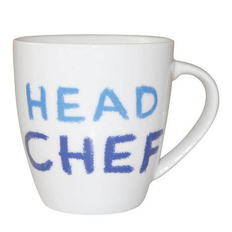Jamie Oliver - White +Head chef+ mug