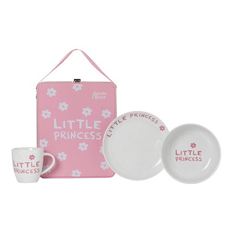 Jamie Oliver - Pink little princess breakfast set