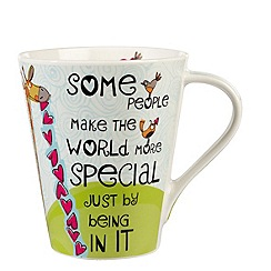Queens - Light blue 'Special friends' mug