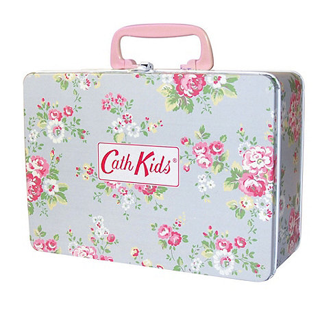Cath Kidston - Blue +Spray Flowers+ kids+ breakfast set