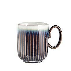 Denby - Blue 'Amethyst' fluted mug