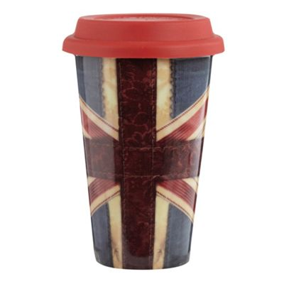 Creative tops ceramic red ´Union Jack´ travel - . -