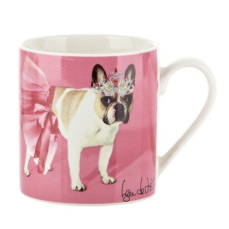Ben de Lisi Home - Pink ballerina dog motif mug