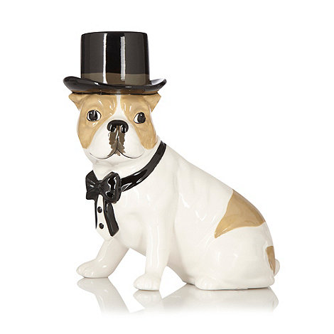 Ben de Lisi Home - Earthenware dog top hat money box