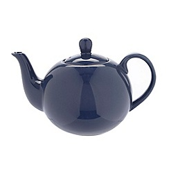 Home Collection Basics - Stoneware blue teapot