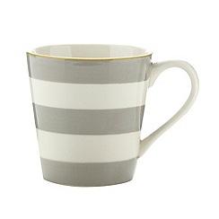 J by Jasper Conran - Designer stoneware striped mug
