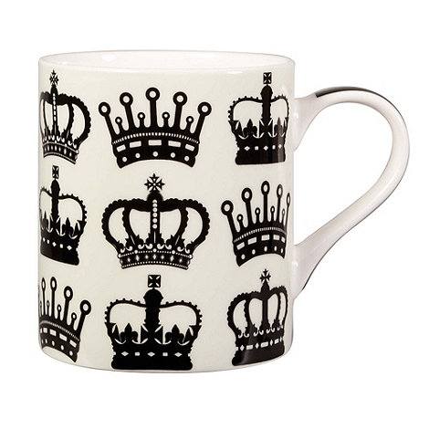 Queens - Fine bone china crown mug
