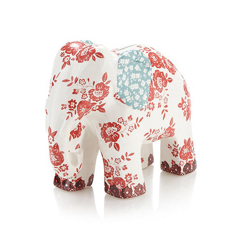 At home with Ashley Thomas - Ceramic +Heirloom+ elephant money box