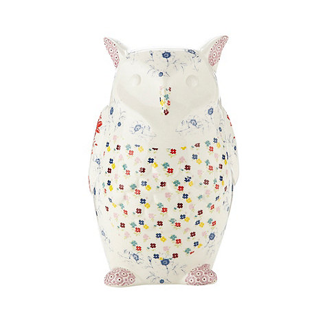 At home with Ashley Thomas - Ceramic +Heirloom+ owl money box