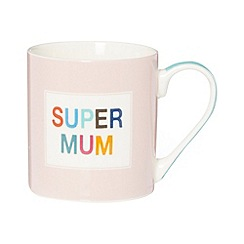 Ben de Lisi Home - Designer fine china 'Super Mum' mug