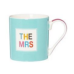 Ben de Lisi Home - Designer fine china 'The Mrs' mug