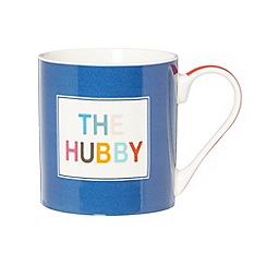 Ben de Lisi Home - Designer fine china 'The Hubby' mug