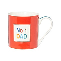 Ben de Lisi Home - Designer fine china 'No.1 Dad' mug