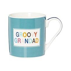 Ben de Lisi Home - Designer fine china 'Groovy Grandad' mug