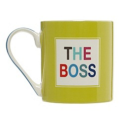 Ben de Lisi Home - Designer fine china 'The Boss' mug