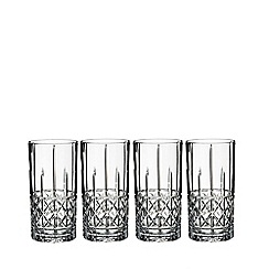 Marquis by Waterford - Set of 4 Brady Hi ball glasses