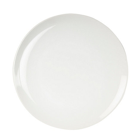 Home Collection Basics - White stoneware dessert plate