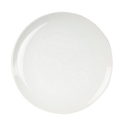 Home Collection Basics - White stoneware dessert plate