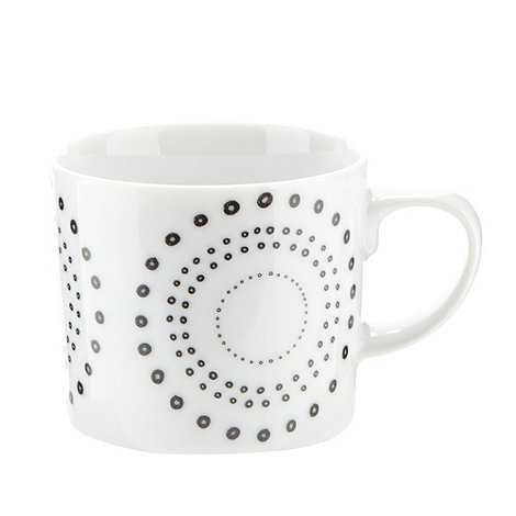 Debenhams - Porcelain black +Helsinki+ espresso cup