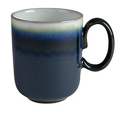 Denby - Green Greenwich double dip mug