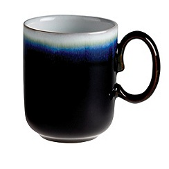 Denby - Black 'Imperial' double dip mug