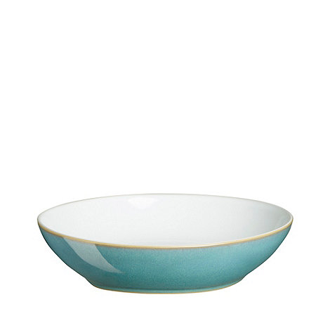 Denby - Glazed +Azure+ pasta bowl