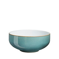 Denby - Aquamarine glazed 'Azure' cereal bowl