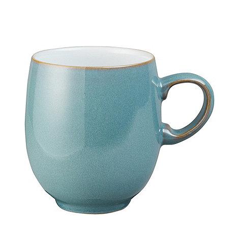Denby - Glazed +Azure+ large mug