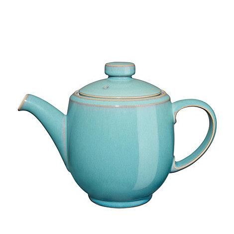 Denby - Glazed +Azure+ teapot