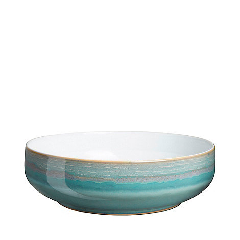 Denby - Sea green and white +Azure Coast+ large serving bowl