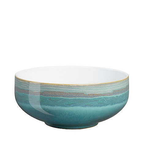 Denby - Sea green and white +Azure Coast+ cereal bowl