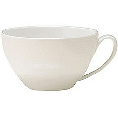 Denby - White bone china tea cup