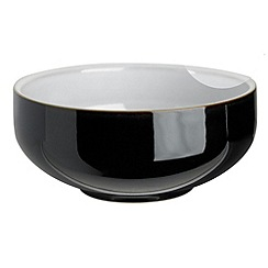 Denby - Jet black cereal bowl
