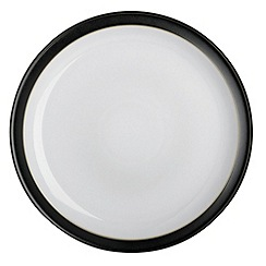 Denby - Jet black large dinner plate