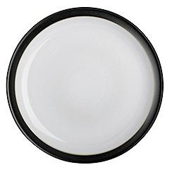 Denby - Jet black dinner plate