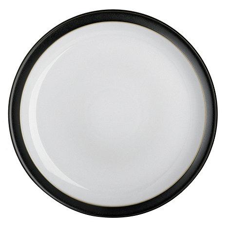 Denby - Black glazed +Jet+ dinner plate