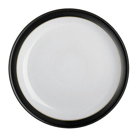 Denby - Black glazed +Jet+ dessert plate
