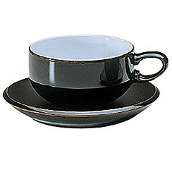 Denby - Jet black tea saucer