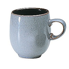 Denby - Grey 'Jet' large mug