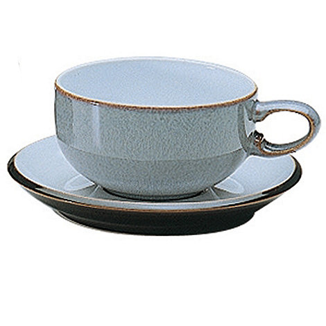 Denby - Jet grey tea saucer