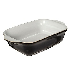 Denby - Jet black small oblong dish