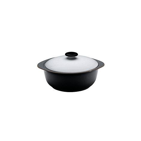 Denby - Jet black casserole dish