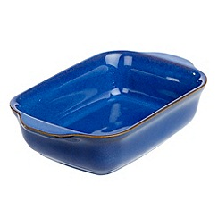 Denby - Imperial blue large oblong dish