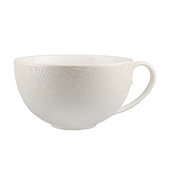 Denby - Cream glazed 'Monsoon Lucille' tea cup