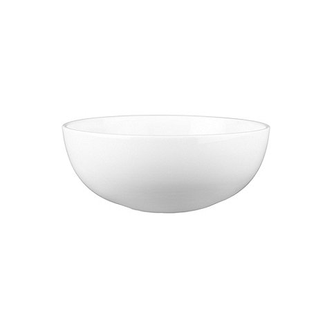 Denby - Glazed +White Grace+ cereal bowl