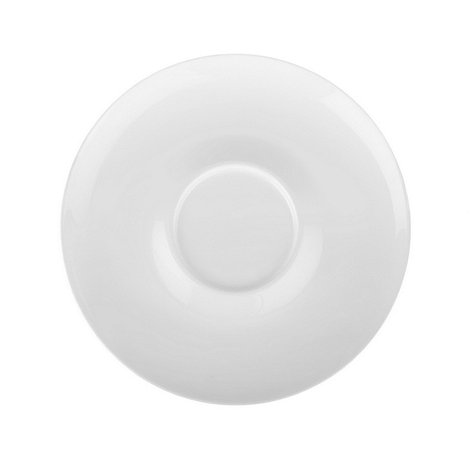 Denby - White Grace tea saucer