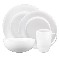 Denby - White Grace sixteen piece box Set