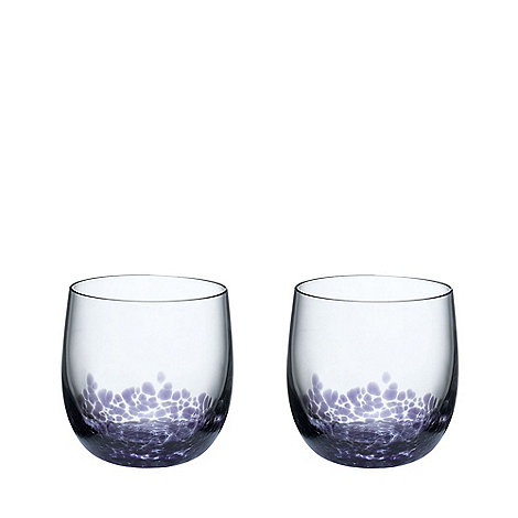 Denby - Set of 2 +Amethyst+ tumblers